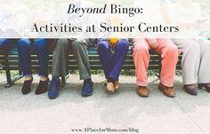 Unique activities for seniors