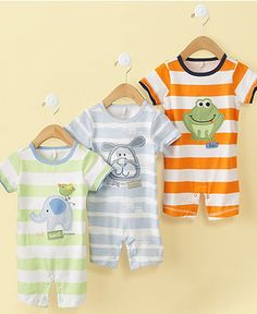 First Impressions Baby Sunsuit, Baby Boys Animal Graphic Sunsuit - Kids Baby Boy (0-24 months) - Macy's
