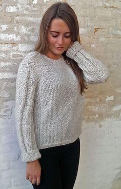 Sweater med rib variant - Kvinder - Charlotte Tøndering - Designere