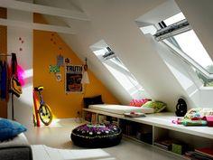 Fenêtres de toit: quelques idées lumineuses   Travaux.com