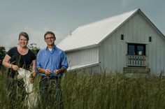 The Looking Glass Creamery, run by Jennifer and Andy Perkins, is a stop along the cheese trail.