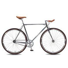 Santa Fixie. Bicicleta Foffa Bike Premium Bullhorn de color plata. Comprar Foffa Bike https://www.santafixie.com/foffa-bike-single-speed-premium-bullhorn-plata.html