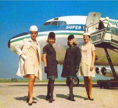 UTA vintage stewardesses