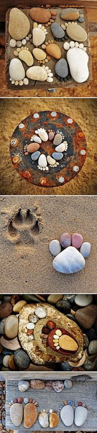 Do-it-yourself furniture – Pauline Marchand – # Furniture … - Deutschland Ideen Stone Crafts, Rock Crafts, Fun Crafts, Diy And Crafts, Crafts For Kids, Arts And Crafts, Pebble Stone, Pebble Art, Stone Art