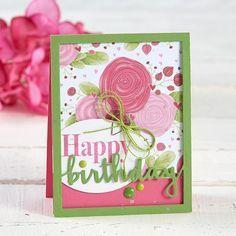 Beautiful Birthdays! - Designer Frames Die Set
