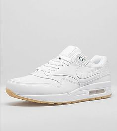 NikeAir Max 1 Premium 'White & Gum Pack'at Size?. FREE DELIVERY on orders > £50.
