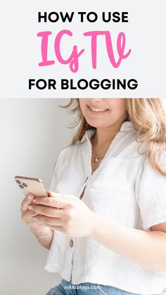 Learn how to grow your online business or blog with Instagram TV. This guide to using IGTV for business offers a lesson in uploading videos, ideas for content creation, plus how bloggers can leverage one of IG's latest features to grow their websites. Click here to start. #instagram #instagramtips #instagrammarketing #instagramcontentideas #instagrampostideas #instagramtv #igtv Facebook Marketing, Content Marketing, Social Media Marketing, Creative Business, Business Tips, Online Business, Instagram Story Ideas, Instagram Tips, Make Money Blogging