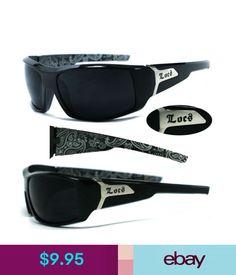 cb9af62834d Locs Mens Biker Designer Sunglasses - S. Locs SunglassesUv400  SunglassesGangsterBlack ...