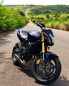 """5,385 curtidas, 36 comentários - Vinicius Said (@vinicius_said) no Instagram: """"E essa foto perdida vou virar fotógrafo ❤️ 😱🔑📸 @hugo.milgrau #hornet #honda #milgrau #moto #go #sp…"""" Yamaha Fz, Yamaha Motorcycles, Ducati, Cars And Motorcycles, Valentino Rossi, Motocross, Moto Wallpapers, Bike Pic, Downhill Bike"""