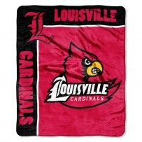 "Louisville Cardinals ""School Spirit"" Raschel Throw"