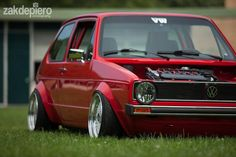 One fat Mk1 golf...