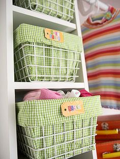 Kid-Savvy Storage Tips - You've cleaned out the kids' closets and have a new plan to keep the storage space organized. But how do you ensure all your efforts don't go down the drain faster than you can close the closet door? The key to teaching kids to keep an organized closet is making it easy for them to do so. Try these storage ideas...