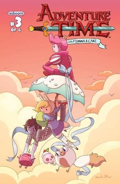 Can't get enough of Fionna & Cake! - Adventure Time: Fionna & Cake #3 (of 6)