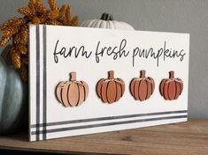 Holiday Crafts, Diy Fall Crafts, Fall Pumpkin Crafts, Pumpkin Farm, Diy Pumpkin, Jar Crafts, Felt Crafts, Wood Crafts, Fall Signs