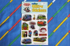 Vintage 1986 Thomas the Tank Engine glittery by LittleToyLost