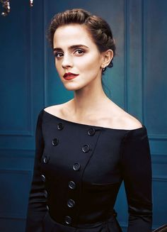 Emma Watson for The Hollywood Reporter Russia (2017) Pinned by @lilyriverside