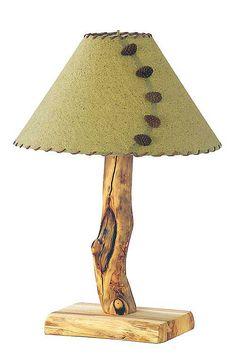 Rustic Table Lamps on Rustic Aspen Pine Log Pub Tables   Log Gun Cabinets   Log Lamps