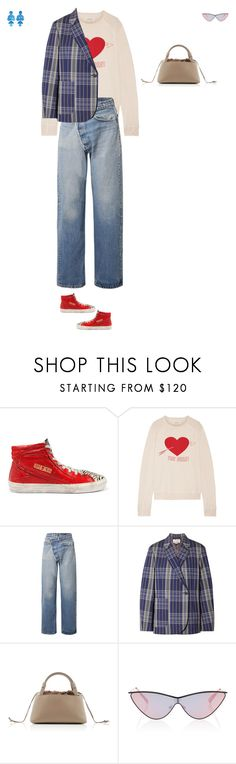 """Untitled-573"" by didi-oliveira ❤ liked on Polyvore featuring Golden Goose, The Great, R13, Acne Studios, Sirena, Le Specs and Annie Costello Brown"