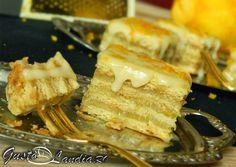 Prajitura cu miere si crema de portocale Romanian Food, Spanakopita, Homemade Food, Delicious Food, Cakes, Reading, Ethnic Recipes, Books, Desserts