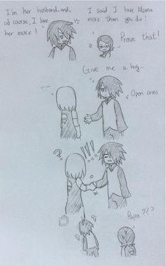 xD Its because Sasuke only has one hand so Sakura thought it was a handshake!! Hahaha! Poor, poor Sasuke!