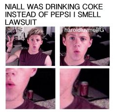 I honestly don't blame him... << Hahaha! That's hilarious xD Coke is good, but I'ma Dr Pepper girl ;)