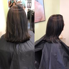 Brazilian blow out & partial highlight by Naydene (done in two separate sessions). Left is rough dried & right is styled ✨ _ _ _ _ #puresalonspafremont #avedastylist #bayareahair  #hairinspo #bayareahairstylist #avedasalon #avedaartist #hairart #hairclip #hairstylist #hairstyle #hairgoals #hairfashion #hairideas #beauty #wakeupandmakeup #beautyaddict #hairofinstagram #partialhighlight #beforeandafter #aveda #avedacolor  #vscocam #modernsalon #americansalon #cosmetology #behindthechair…