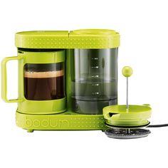 bodum bistro electric french press coffeemaker