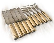 ivory inlay flatware from Nancy Fishelson