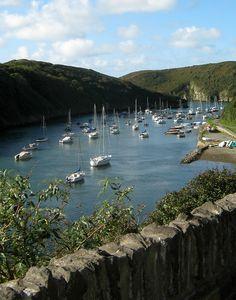 Solva, Pembrokeshire, Wales, UK . Beautiful place.