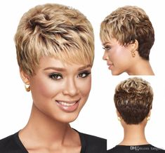 These gorgeous and pretty remy hair, synthetic wig care and short wigs provides here will meet your each requirement for a good xiu zhi mei 6 african american blonde ombre wig with bangs, short hair cuts for curly hair wigs for black women. Really Short Hair, Short Grey Hair, Short Blonde, Short Hair Cuts For Women, Short Hairstyles For Women, Wig Hairstyles, Blonde Ombre, Ombre Brown, Party Hairstyles
