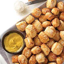 Pretzel Bites: King Arthur Flour