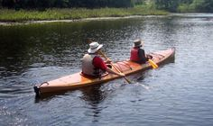 Shearwater Double Tandem Sea Kayak: Multi-Chined Touring Kayak with Sapele Decks!