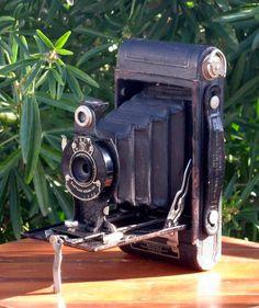 Antique Working Kodak Cartridge Hawk-Eye Model B Folding Camera for 120 Film 1926-1933 by CanemahStudios on Etsy