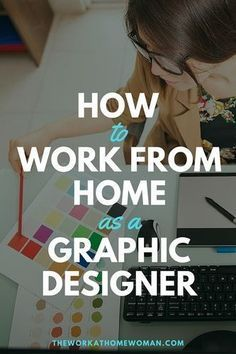 to Work From Home as a Graphic Designer Are you creative? Do you have an eye for detail and excellent communication skills? Find out if a career in graphic design is the perfect work-at-home opportunity for you.Excellent Excellent may refer to: Graphisches Design, Freelance Graphic Design, Graphic Design Tutorials, Web Design Career, Graphic Designers, What Is Graphic Design, Graphic Design Programs, Design Websites, Email Design