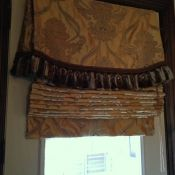 Gallery – Valances & Roman Shades | Beyond the Screen Door