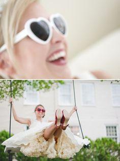 Un mariage à lunettes ? Oui mais des lunettes de soleil alors ! Quelles astuces pour organiser votre mariage sur http://yesidomariage.com