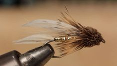 Terrific instructions for tying the perfect Muddler Minnow (by Tightline Productions).