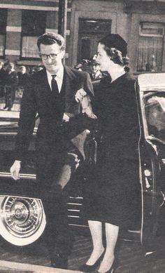 Bruxelles , Roi Baudouin et Dona Fabiola (magasine  Le soir illustré N° 1475- 29 Septembre 1960).