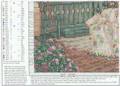Patrones punto de cruz (solo country) (pág. 12) | Aprender manualidades es facilisimo.com