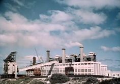 South Fremantle Power Station, 1954