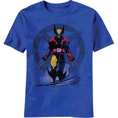 Battle Ready Wolverine Kids T-Shirt - NW-V9302YS from Superheroes Direct