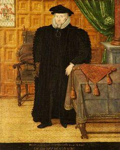 Portrait of Sir Thomas Egerton (1540–1617), 1st Viscount Brackley, Aged 58.