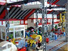 Lego Car Factory City Layout, Kitchen Design Open, Lego Room, Circular Economy, Lego Architecture, Lego Creator, Lego Building, Lego City, Legos