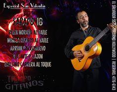 ESPECIAL SEMANA DE SAN VALENTÍN EN TIEMPO DE GITANOS!!! SOLO CON RESERVAS AL 4776 6143 Cena Show, Movie Posters, Movies, Valentines, Flamenco, Dance, Films, Film Poster, Film Books