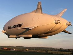 Airlander takes to the skies