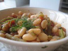 Greek Potato Zucchini And Bean Stew Recipe - Greek.Genius Kitchensparklesparkle