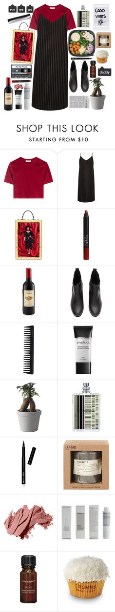 """""""$uicideboy$–Kill Yourself"""" by anna-modestovna ❤ liked on Polyvore featuring River Island, Dolce&Gabbana, NARS Cosmetics, Kikkerland, CASSETTE, GHD, Kale, Smashbox, Muuto and Escentric Molecules"""