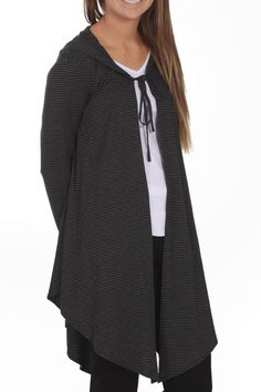 Pete & Greta Daven Dusk Hoodie | Hooded cardigan, Black tank and ...