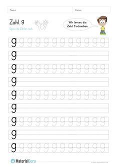 Kostenlose Arbeitsblätter und Übungen zur Zahl 4 für den Mathe ...