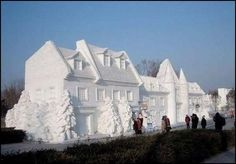 Extreme Funny Humor - Amazing Pictures - Ice sculpture
